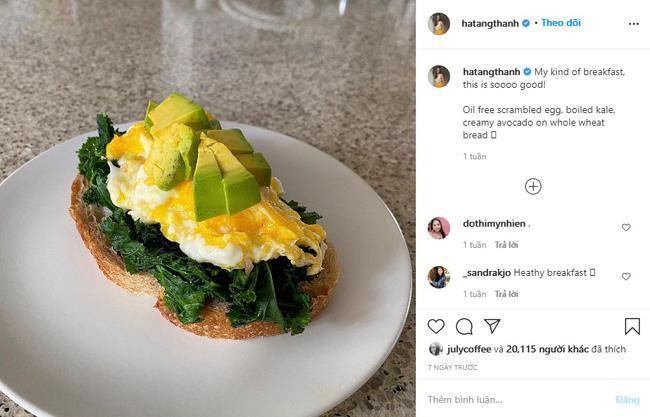 Học làm bữa sáng vừa ngon vừa lành mạnh như Hà Tăng, bí kíp chính là cách chọn nguyên liệu cực đỉnh-3