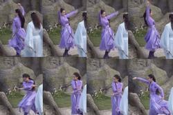Diễn cảnh đánh nhau như tập múa trong 'Trần Duyên', Angelababy bị chê 'về làm người mẫu đi'