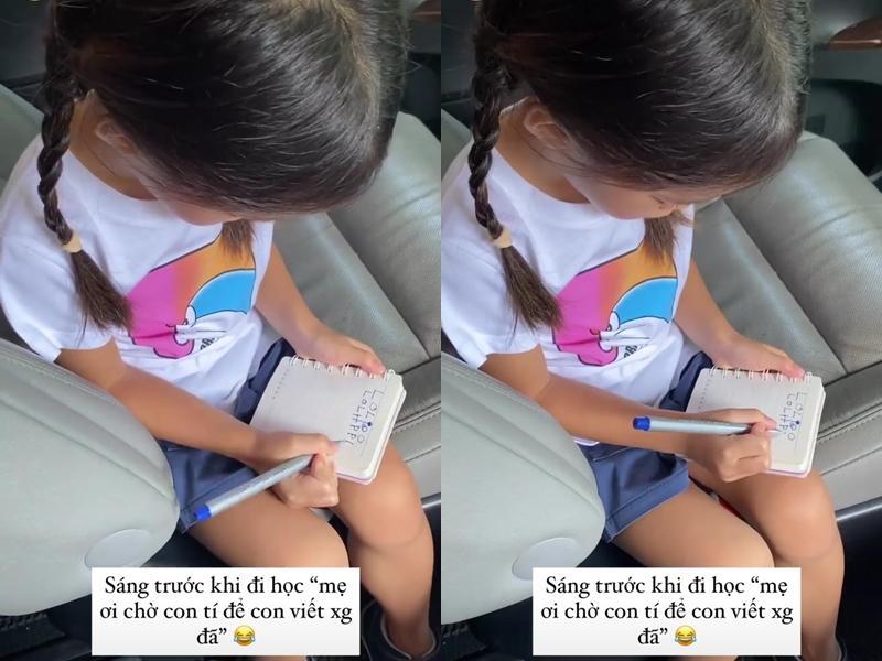 Tăng Thanh Hà hé lộ điều bất ngờ về con gái 3 tuổi-1