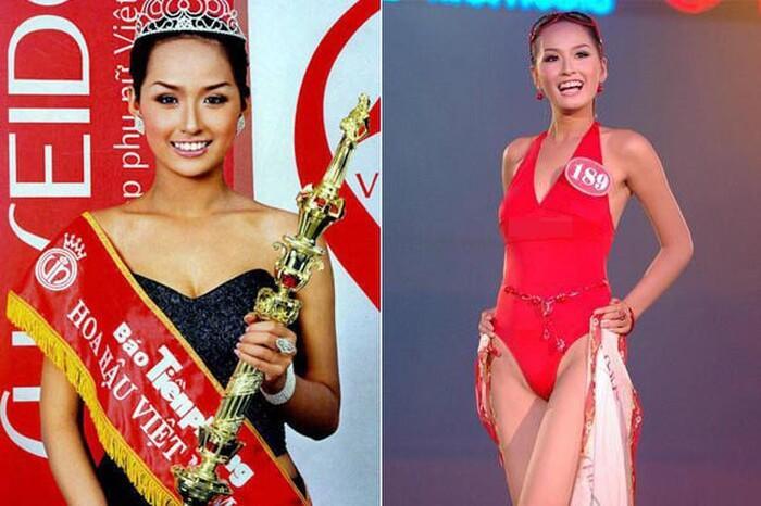 Nhan sắc hiện tại của những Hoa hậu Việt bị chê xấu khi đăng quang, kì lạ thay ngày càng đẹp-1