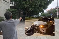 Thanh tra Sở GTVT lái ô tô tông nữ lao công tử vong: Lời kể nhân chứng