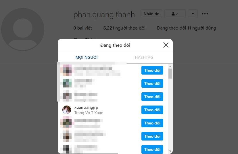 Phan Thành bật chế độ chỉ follow mẹ vợ trước khi bí mật làm đám hỏi với Xuân Thảo-1