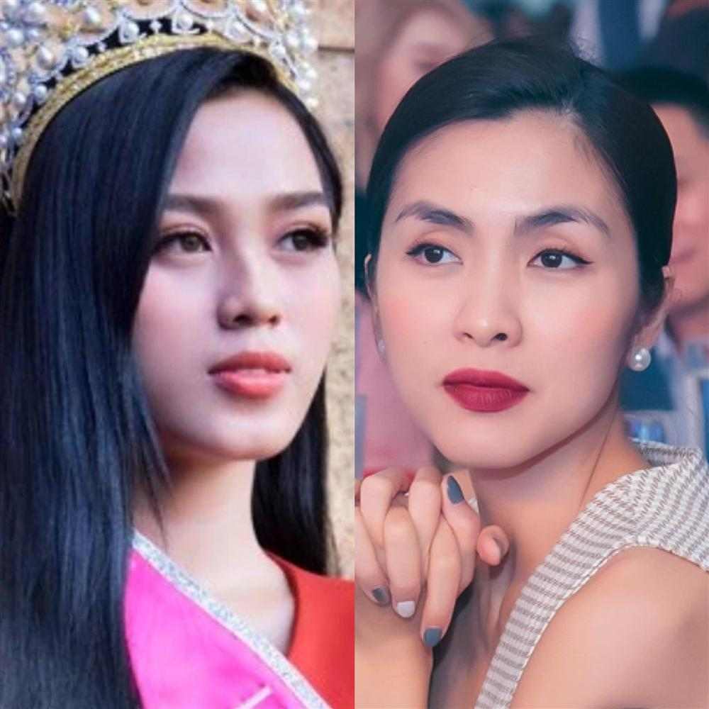 Vẻ đẹp Đỗ Thị Hà bị so sánh với Tăng Thanh Hà: Liệu có cùng đẳng cấp?-3