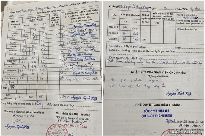 Hé lộ bảng điểm học tập của Á hậu 1 Phương Anh-3