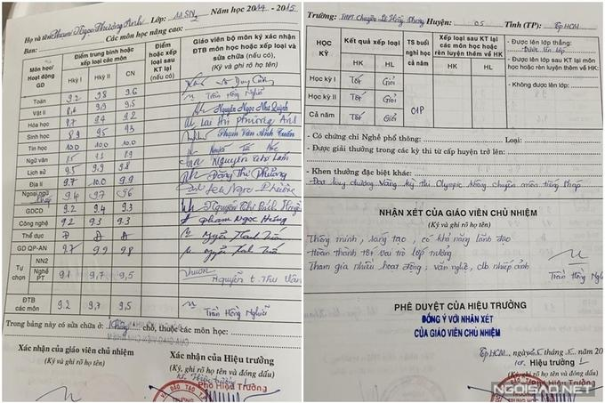 Hé lộ bảng điểm học tập của Á hậu 1 Phương Anh-4