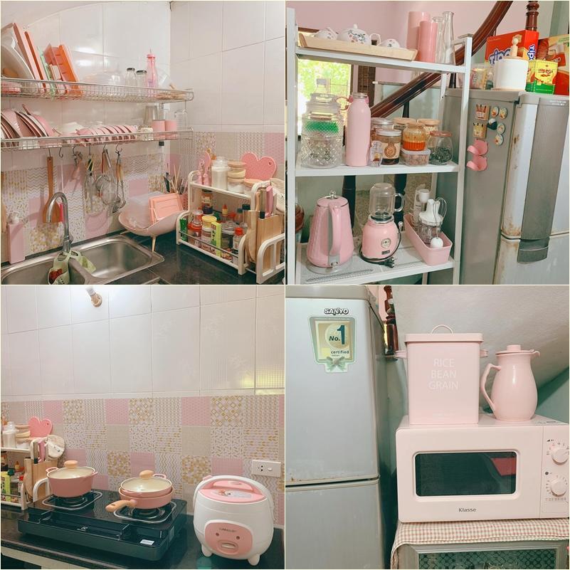 Căn phòng trọ màu hồng đủ sống, đủ ấm áp của cô nàng 9X-4