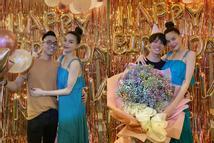 Đồng nghiệp để lộ vóc dáng thật của 'bà đẻ' Hồ Ngọc Hà