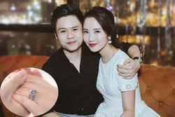 Hé lộ ý nghĩa chiếc nhẫn kim cương to vật vã Phan Thành mang đi hỏi vợ hôm qua