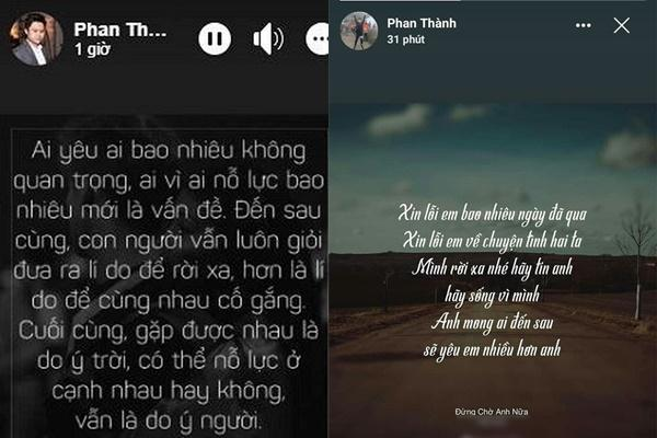 Trước khi chốt tiểu thư danh giá, Phan Thành có cả rổ status nhớ nhung Midu?-4