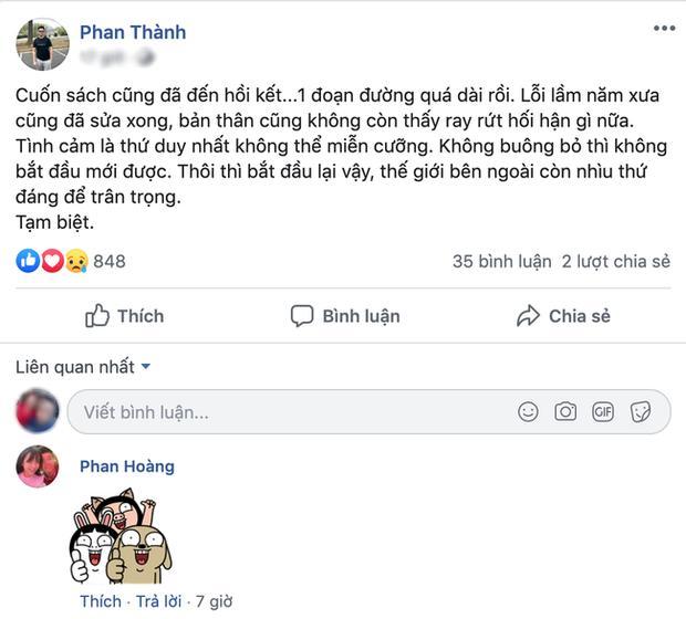 Trước khi chốt tiểu thư danh giá, Phan Thành có cả rổ status nhớ nhung Midu?-5