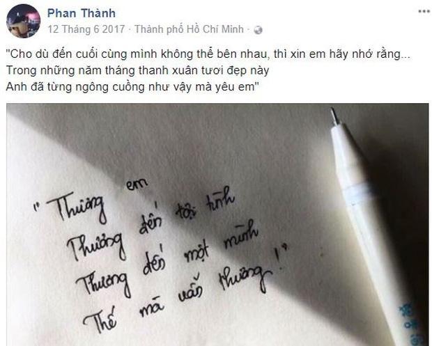 Trước khi chốt tiểu thư danh giá, Phan Thành có cả rổ status nhớ nhung Midu?-6