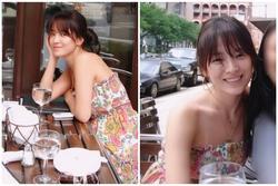 Ảnh diện váy quây, mặt mộc của Song Hye Kyo trở thành chủ đề bàn tán: Lý do khiến Hyun Bin, Song Joong Ki say đắm