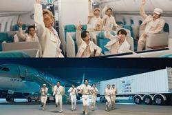 Giàu như BTS, thuê cả sân vân động Olympic giờ lại mang phi cơ làm đạo cụ diễn