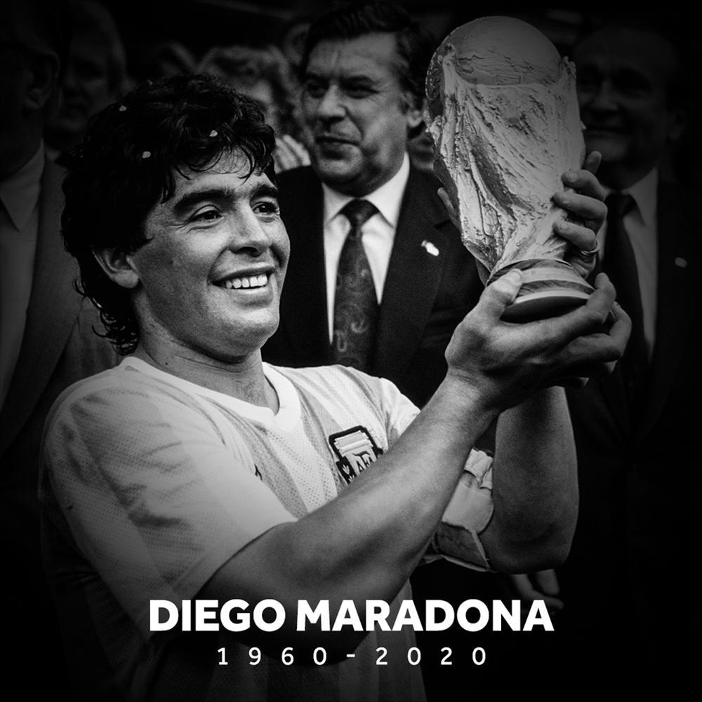 Huyền thoại bóng đá - Diego Maradona qua đời ở tuổi 60-1