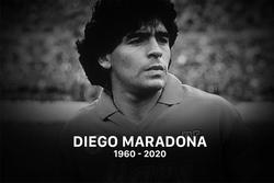 Huyền thoại bóng đá - Diego Maradona qua đời ở tuổi 60