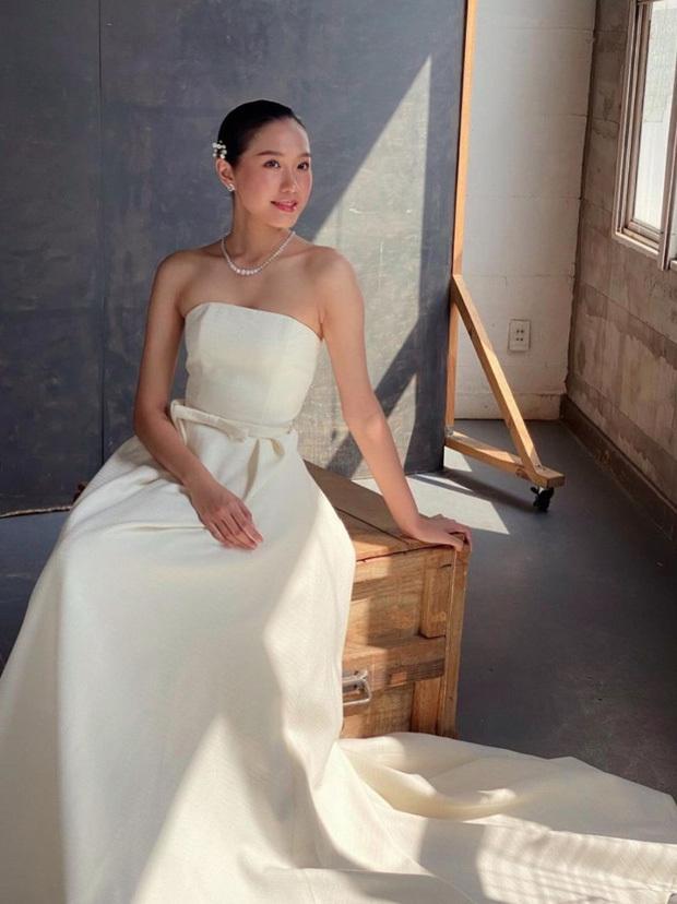 Doãn Hải My lộ ảnh hậu trường đi thử váy cưới, động thái của Văn Hậu còn bất ngờ hơn-5