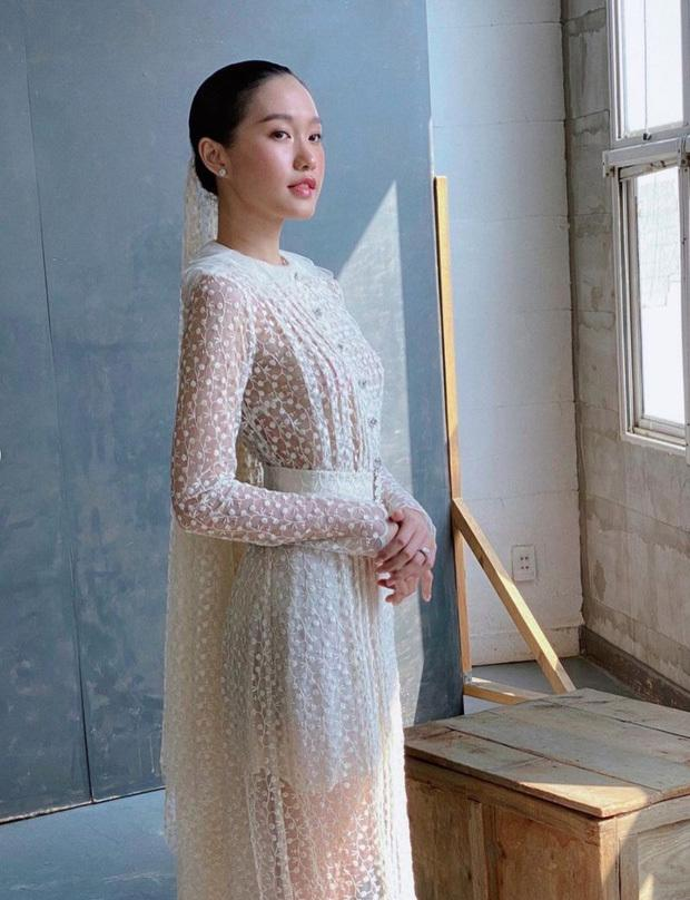 Doãn Hải My lộ ảnh hậu trường đi thử váy cưới, động thái của Văn Hậu còn bất ngờ hơn-4