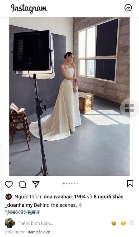 Doãn Hải My lộ ảnh hậu trường đi thử váy cưới, động thái của Văn Hậu còn bất ngờ hơn-6
