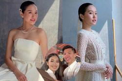 Doãn Hải My lộ ảnh hậu trường đi thử váy cưới, động thái của Văn Hậu còn bất ngờ hơn