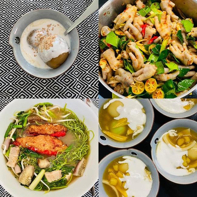 Thu Minh thăm nhà cổ 80 năm tuổi của Bằng Lăng, được khao bữa cơm ngon hết sảy-5