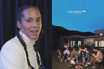 BTS hồi đáp khi Alicia Keys cover 'Life Goes On', fan tha thiết cả hai nên hợp tác 'ngay và luôn'