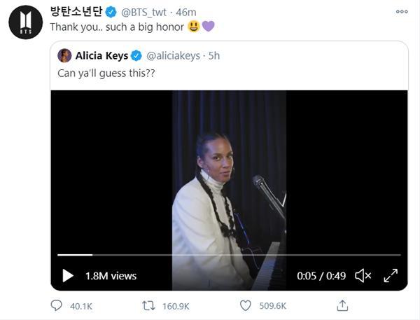 BTS hồi đáp khi Alicia Keys cover Life Goes On, fan tha thiết cả hai nên hợp tác ngay và luôn-5