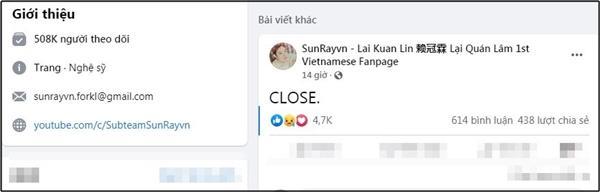 Lại Quán Lâm cảnh cáo tin vu khống, netizens Việt bẻ lái ủng hộ hết mình-3
