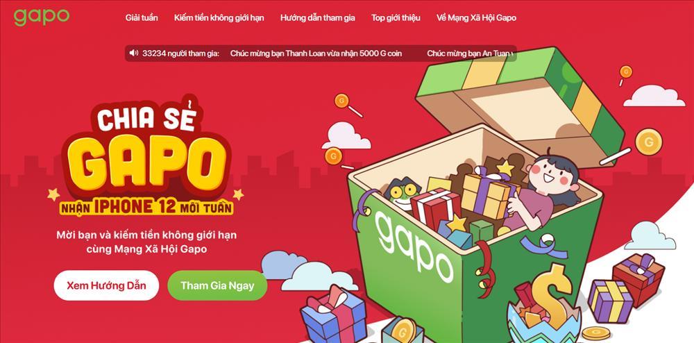 Mạng xã hội Gapo thưởng iPhone 12 Pro Max cho người dùng-1