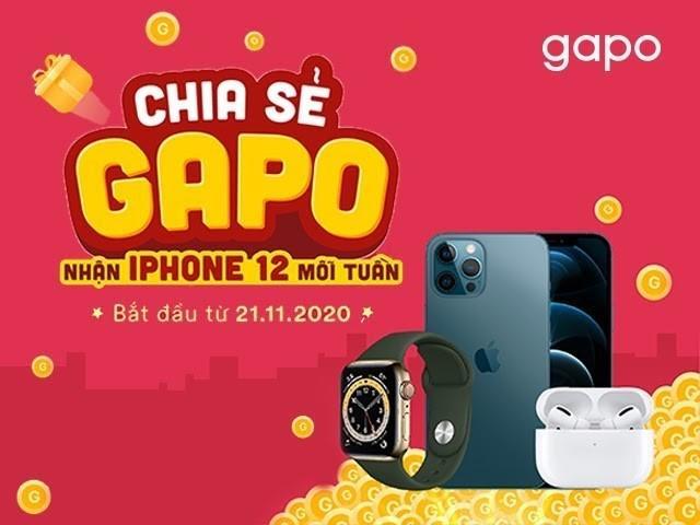 Mạng xã hội Gapo thưởng iPhone 12 Pro Max cho người dùng-3