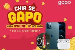 Mạng xã hội Gapo thưởng iPhone 12 Pro Max cho người dùng