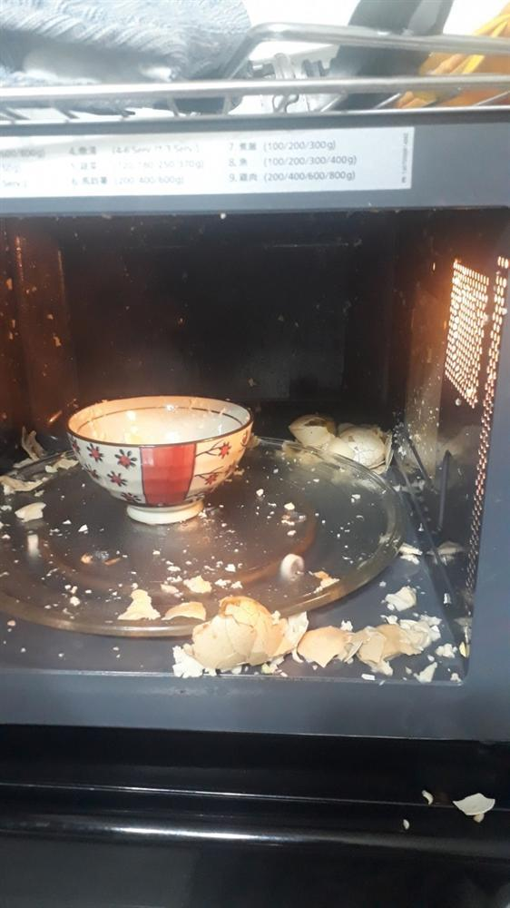 Những thảm họa nấu ăn với lò vi sóng của hội ngáo ngơ khiến ai nhìn xong cũng phải hết hồn-10