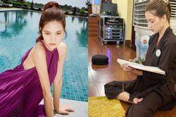 Hoa hậu Jolie Nguyễn ăn chay niệm Phật, gắn liền với các khóa tu