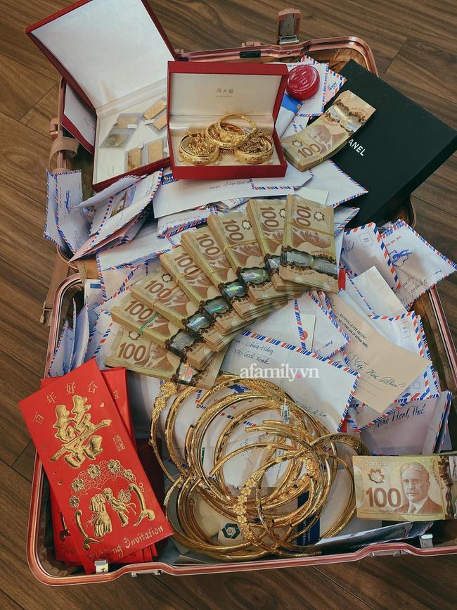 Danh tính cặp rich kid TP.HCM nhận cả vali tiền vàng khủng trong đám cưới-2