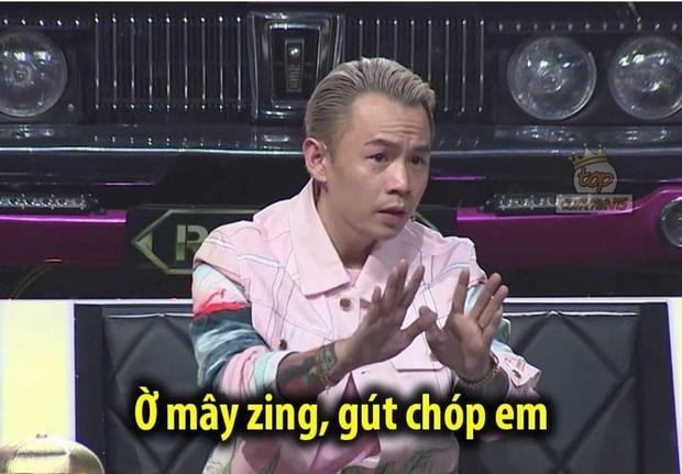 Cười xỉu với bộ sưu tập Ờ mây zing, gút chóp em của Binz tại Rap Việt!-1