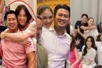 Linh Rin - Phillip Nguyễn gây chú ý khi tham dự tiệc gia đình là ôm ấp không rời
