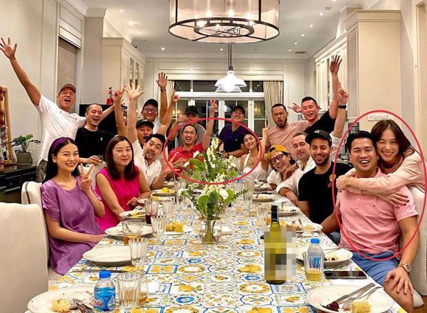 Linh Rin - Phillip Nguyễn gây chú ý khi tham dự tiệc gia đình là ôm ấp không rời-2