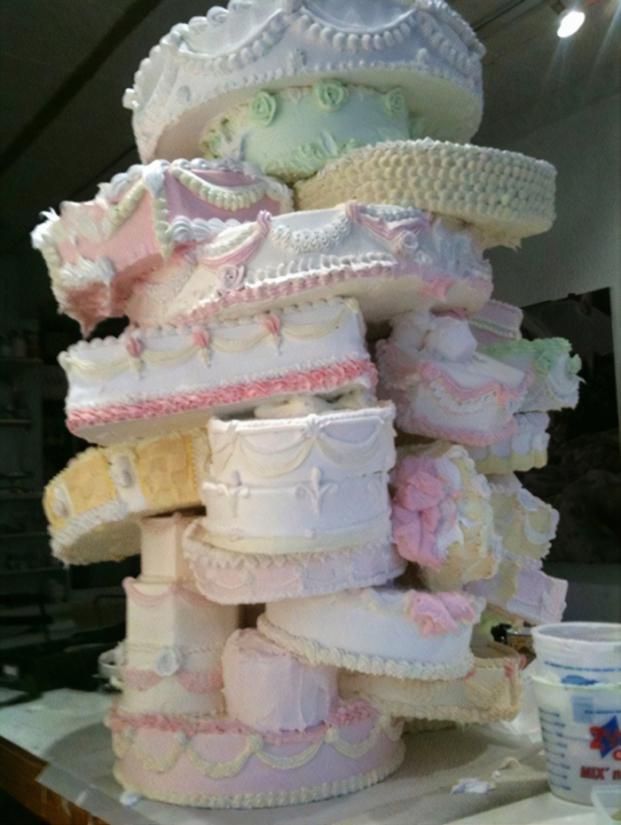 Những ý tưởng bánh cưới vượt xa sự kỳ vọng của chủ nhân, cô dâu chú rể đứng hình khi nhìn tác phẩm-2