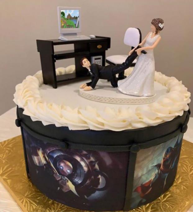 Những ý tưởng bánh cưới vượt xa sự kỳ vọng của chủ nhân, cô dâu chú rể đứng hình khi nhìn tác phẩm-4