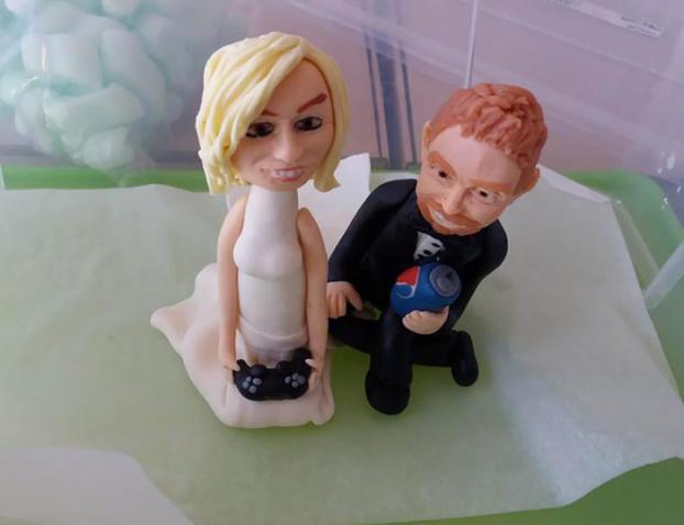 Những ý tưởng bánh cưới vượt xa sự kỳ vọng của chủ nhân, cô dâu chú rể đứng hình khi nhìn tác phẩm-5