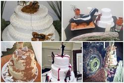 Những ý tưởng bánh cưới vượt xa sự kỳ vọng của chủ nhân, cô dâu chú rể 'đứng hình' khi nhìn tác phẩm