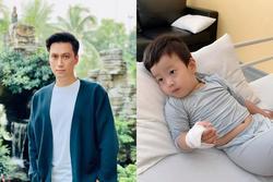Việt Anh hoảng sợ khi 1 đêm ôm con chạy 3 bệnh viện