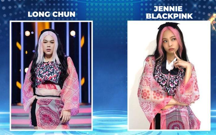 Hot Tiktoker Long Chun gây sốt với màn hóa trang Jennie BLACKPINK phiên bản nặng ký-6