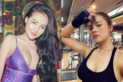 Thu Quỳnh đăng ảnh tập gym, dân mạng 'hốt' với vòng 1 ngang ngửa Ngân 98