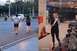HOT: Xôn xao hình ảnh con trai út tỷ phú Johnathan Hạnh Nguyễn cùng bạn gái chạy bộ cuối tuần