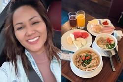 H'Hen Niê có thói quen giống nhiều người khi ăn buffet: Món gì cũng thử, món phụ cũng 'không tha'