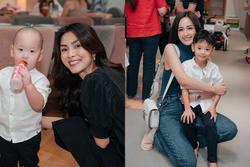 Dự sinh nhật con trai bạn thân, Tăng Thanh Hà và Mai Phương Thúy chiếm 'spotlight'
