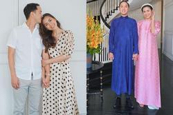 Sánh bước bên ông xã, Hà Tăng lên đồ xuất sắc bảo sao Louis Nguyễn 'nghiện' vợ đến thế