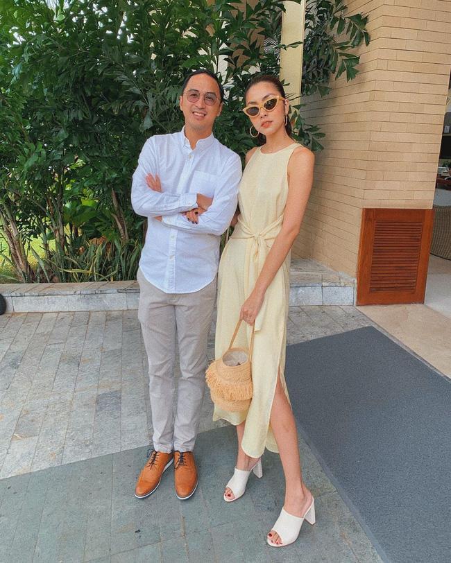 Sánh bước bên ông xã, Hà Tăng lên đồ xuất sắc bảo sao Louis Nguyễn nghiện vợ đến thế-5