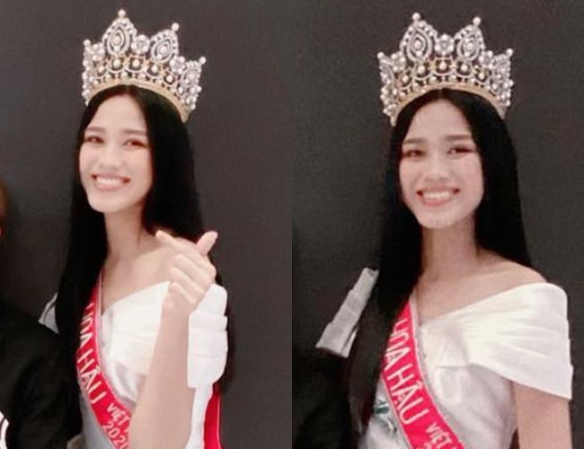 Tân Hoa hậu Việt Nam Đỗ Thị Hà lộ gương mặt xuống sắc khác lạ-2