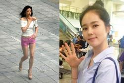 Ảnh chưa chỉnh sửa của mỹ nhân Hàn: Body Jeon Ji Hyun đẳng cấp, sống mũi Han Ga In hoàn hảo